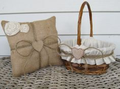 Hey, I found this really awesome Etsy listing at http://www.etsy.com/listing/106594999/personalized-rustic-flower-girl-basket