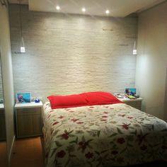 Decoração clean para o quarto do casal