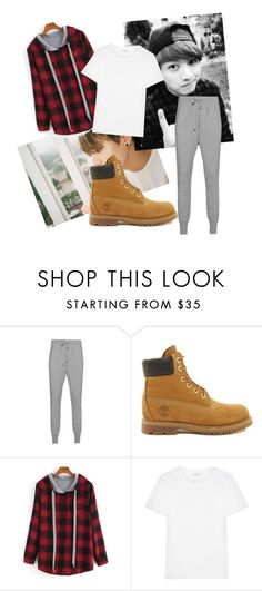"""""""Dance practice - jungkook"""" by k-m1468 ❤ liked on Polyvore featuring Timberland and Yves Saint Laurent"""