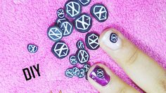 TUTO: comment faire logo EXO en Fimo