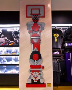 From Big Red To Blaze At The House Of Hoops. Created By Always With Honor