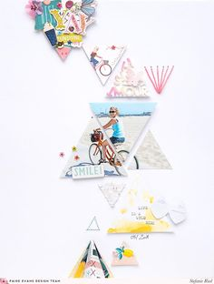 Triangles Layout by Steffi Ried | Paige Taylor Evans