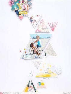 Треугольники макет Штеффи Рид / Пейдж Тейлор Эванс