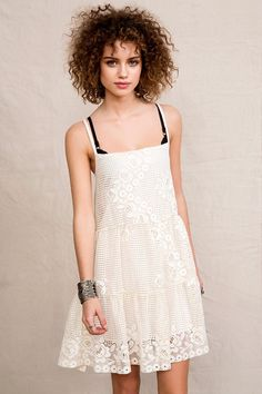 Urban Renewal Lace Babydoll Dress