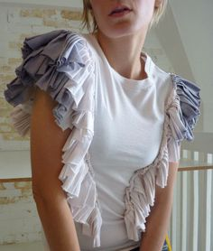 feather winged tee by katetowers on Etsy, $88.00