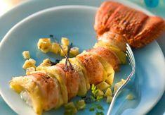 Menu 3 : Langoustes aux fonds d'artichautsCe plat chic et de saison va le faire fondre ! Déguster la recette des langoustes aux fonds d'artichauts