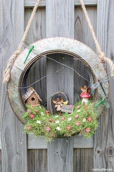 DIY Spring Wreaths - How to Make a Spring Wreath Yourself