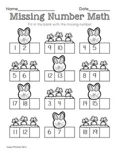 Image result for spring number activities