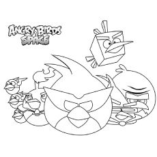 Angry Birds Space Coloring Sheet Printable Space Coloring Pages Coloring Pages Space Coloring Sheet