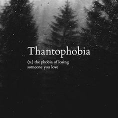 Thantophobia loss fear Bestes Bild Club is part of Uncommon words - Thantophobia loss fear Thantophobia loss fear Unusual Words, Weird Words, Rare Words, Unique Words, Cool Words, Fancy Words, Big Words, Deep Words, Pretty Words