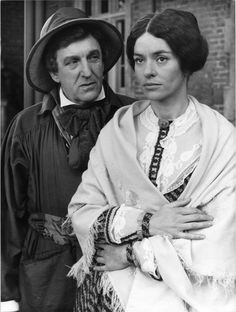 The Woman In White - BBC TV 1982 - Alan Badel and Diana Quick. Working at a newspaper in the I had access to stills supplied for TV broadcasts. This is a scan of one of those stills, and is probably unique. The Woman In White, Old Country Music, Barn Dance, Old Dominion, Bbc Tv, Old Pictures, Musicals, Hillbilly, Actors