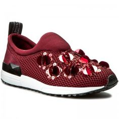 Sneakers LIU JO - Scarpa Donna Tess. F.Do Gomma S66061 J9038 Red Wine 91726 abd21012f6d