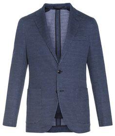 AC Cantarelli woven-cotton blazer
