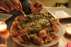 Skinny Spinach Dip (These photos are graphic in nature - Viewer discretion is advised)   Amy Layne Paradigm Blog