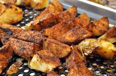 garlic potato wedges