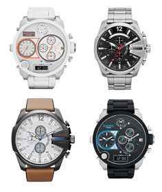 Time to be brave! New collection of watches from Diesel