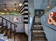juxtaposition black and white interior design - Google Search