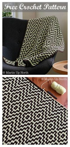 Crochet Quilt, Tapestry Crochet, Knit Or Crochet, Crochet Hooks, Free Crochet, Blanket Crochet, Hand Crochet, Modern Crochet Patterns, Crochet Patterns For Beginners