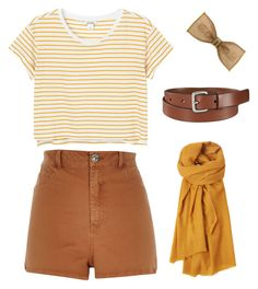"""""""Tan"""" by severnemma12 ❤ liked on Polyvore featuring Monki, River Island, Uniqlo, Toast and 1928"""