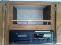 radio 5th Wheels, Flat Screen, Shelves, Home Decor, Shelving, Shelving Racks, Flatscreen, Interior Design, Home Interior Design