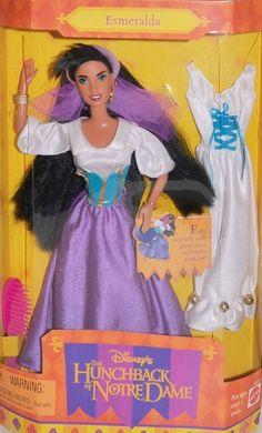 Disney's Hunchback of Notre Dame Esmeralda Doll 1996 Mattel NIB Fast $9 SHIP | eBay