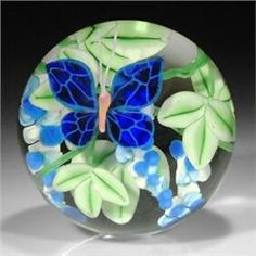 glass paperweights for collectors | Steven Lundberg Glass Art 2000 paperweight