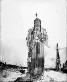 Ute Chief's (Buckskin Charley) [sic] Squaw :: History Colorado, 1890 - 1900