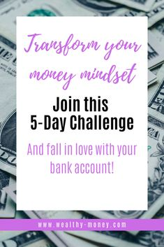 Join in on this money challenge today! Not only with you transform your money mindset, you WILL fall in love with your bank account. Gain: positive relationship with money, financial freedom, achieve business goals, and more. Feeling Scared, How Are You Feeling, Dealing With Frustration, Money Challenge, Business Goals, Forgiving Yourself, Bank Account, Emotional Intelligence, Forgiveness