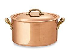 Mauviel Copper 6 1/2-Qt. Dutch Oven