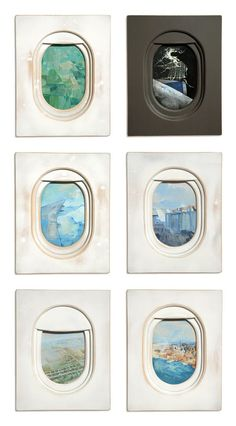 Art Sketchbook Ideas: Creative Examples to Inspire High School Students Airplane Art, Airplane Window, Airplane Painting, Gcse Art Sketchbook, Creative Landscape, Up Book, Grafik Design, Art Plastique, Graphic