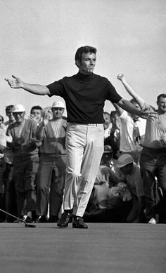 Tony Jacklin Finishes Off the 1970 U.S. Open, Chaska, MN (he used to live down the road from me!)