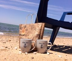 by the our coffee bag, has locally sourced coffee and is the perfect start to your morning Linen Rentals, Cape Cod, Coastal, Mugs, Coffee, Tableware, Cod, Kaffee, Dinnerware