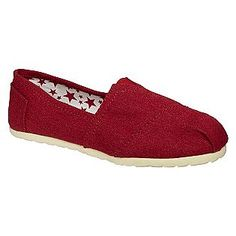 Women's Estie Casual Shoe - Red- Expressions