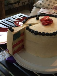 Happy 4th of July!  My daughter's creation.