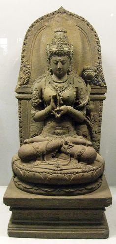 Prajnaparamita,13th century, Singhasari period, Java