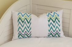 Lilly Pulitzer Chev On It in Shorely Blue for Lee Jofa and