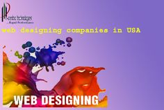 N-centric technologies India Pvt. Ltd Company is offering all web design services with high quality. As we claiming the best web designing companies in USA we offer very dynamic and eye catching websites.