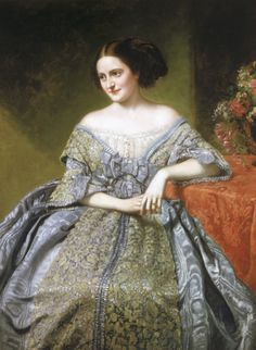 George Peter Alexander Healy(American, 1813 -1894)Portrait of Sallie Ward,1860,oil on canvas. Sallie Ward was one of the most notorious sou...