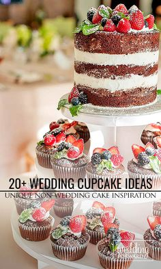 Wanting some uniqueness to your wedding treats? We have a list of the unique wedding cupcake ideas! Beautiful Wedding Cakes, Beautiful Cakes, Cupcake Table, Cupcake Ideas, Emerald Rings, Emerald Pendant, Ruby Rings, Wedding Cake Inspiration, Wedding Ideas