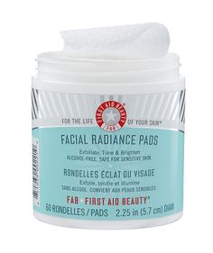 First Aid Beauty Facial Radiance Pads   As a beauty editor, I get sent a lot of free products to review (tough job, I know). But there are some gems I've found over the years that are worth every penny—even if that means spending my own money on them. I asked my fellow Time Inc. (Real Simple's parent company) beauty editors to share their most beloved beauty products and why they're so great.
