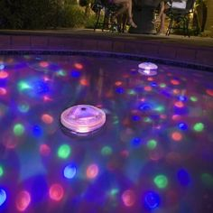 Waterproof Led Floating Underwater Light Disco Show Bathtub Swim Pond Pool Lamp Spa Tub Holiday Lighting For 3x Aa Battery Available In Various Designs And Specifications For Your Selection Lights & Lighting