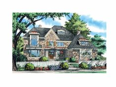 Eplans Chalet House Plan - Lavish Living - 3865 Square Feet and 5 Bedrooms(s) from Eplans - House Plan Code HWEPL69201