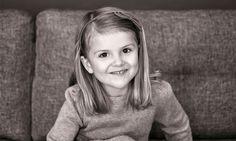La adorable Princesa Estelle celebra su 5° cumpleaños