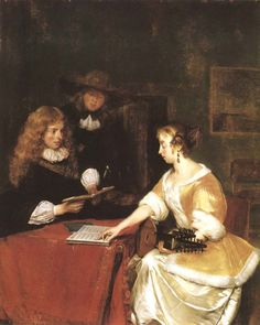 A Concert by Gerard ter Borch