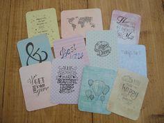 10 cartes de journalisation par LovedbyGaby sur Etsy