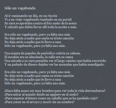 """""""Solo un vagabundo"""" poema de Bob Dylan"""