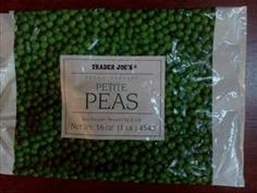 frozen peas as chicken treats on a hot day