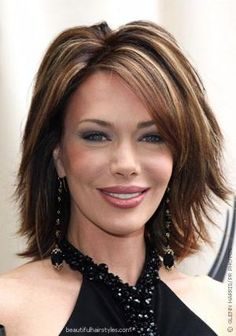 Over+40+Hairstyles+with+Bangs | Short hairstyles with bangs for women over 40 4