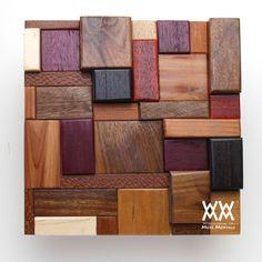 WWMM scrap wood art project