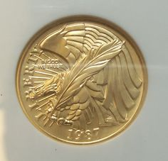 1987 W 5 Gold Coin Contsution Beautiful Eagle Ngc Ms 70 Us Vault Collection Ken Ladd Ebay Listings